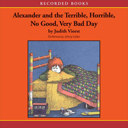 Alexander and the Terrible Horrible No Good Very Bad Day Book Tales2go