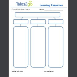 Classification chart tales2go audio books