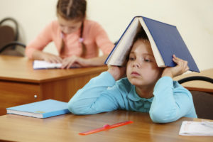 Students with dyslexia struggle with decoding