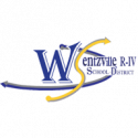Wentzville School District Logo In Royal And Gold