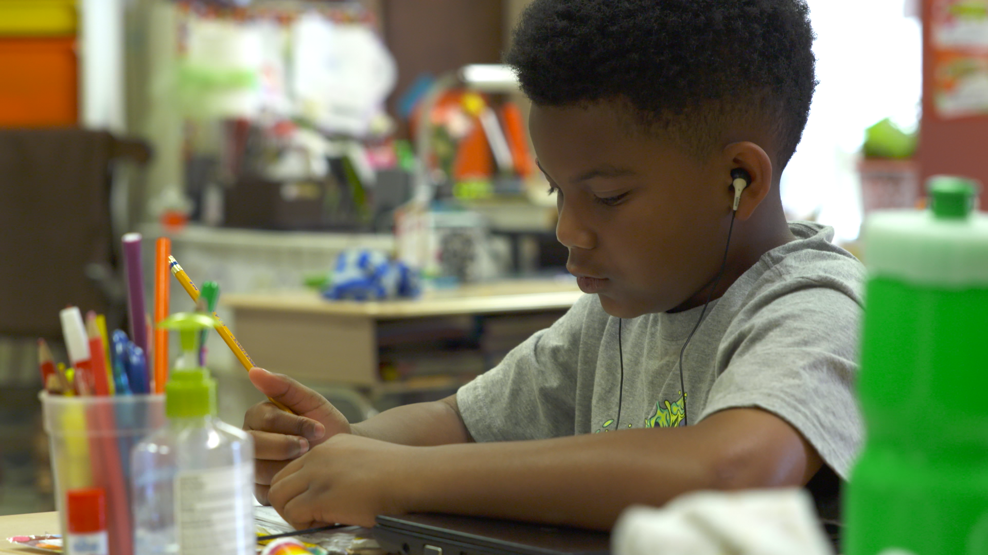 An Ear For Reading: Audiobooks Take Center Stage In The Classroom